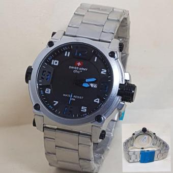 SWISS ARMY DHC ORIGINAL- STAINLESS SILVER-FOR MAN