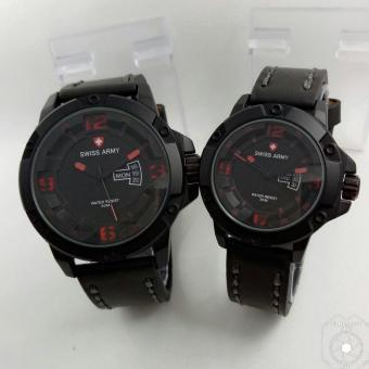 Swiss Army Fashion SA2007 DS - Jam Tangan Couple - Fitur Tanggal /Hari Aktif