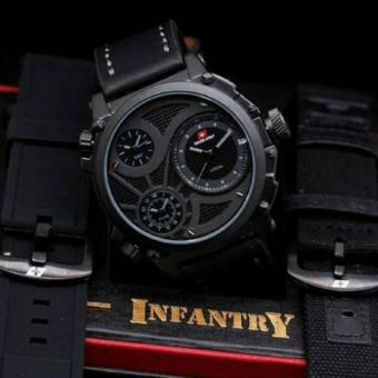 Swiss Army Infantry Full Set-Jam Tangan Pria SA 7556