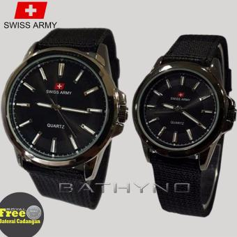 Swiss Army - Jam Tangan Couple - SA5093RSII
