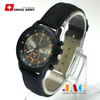 Swiss Army Jam Tangan Wanita - SA 01JAC01 - Kasual - Leather Strap