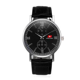 Swiss Army Original - High Quality - Jam Tangan Pria dan Wanita - Strap Kulit -