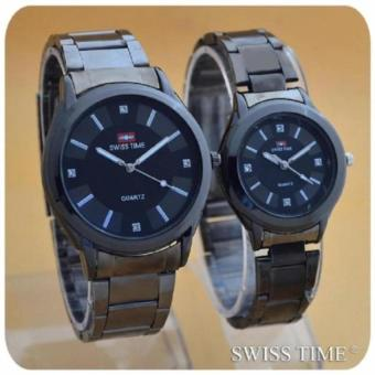 Swiss Army/Time Jam tangan Pria&Wanita (Couple) - SA 4499