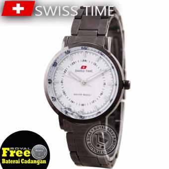 Swiss Time Ladies Elegant - Silver - Stainless - SA 5108 RSII