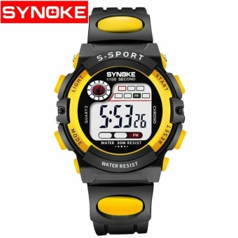 SYNOKE 99269 LED Digital Anak Watch Kids Watches Girls Boys Jam Anak SPORT Wrist Watch Digital Watch (kecil) -Intl