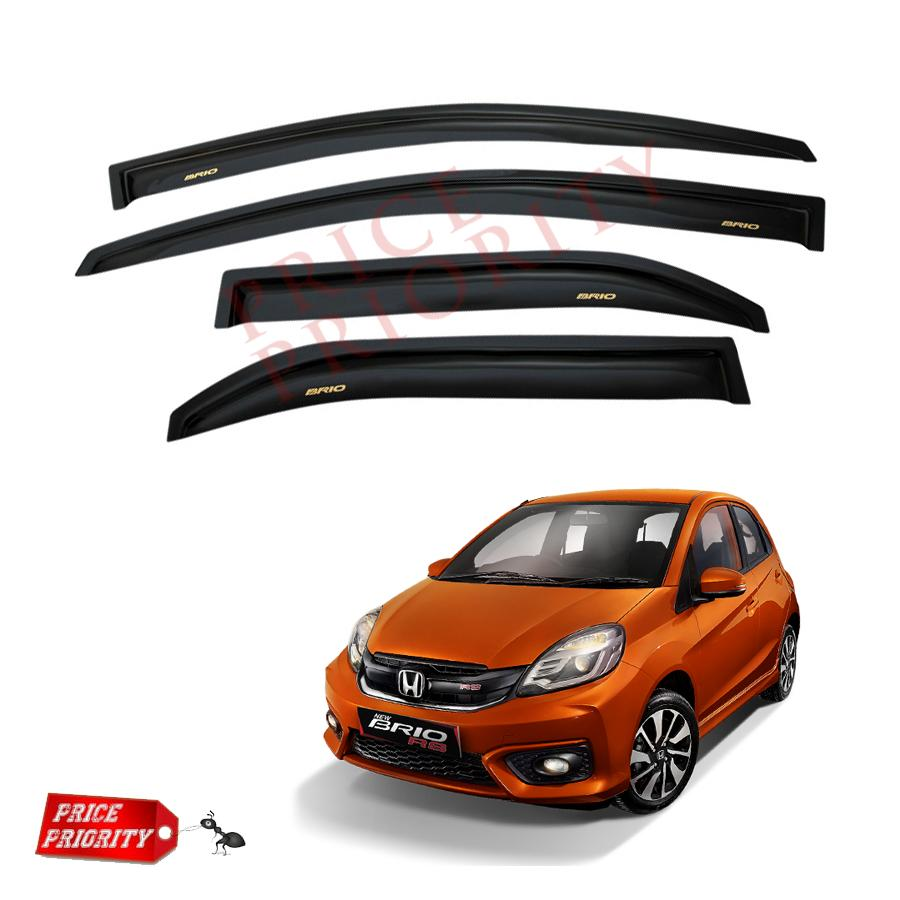 Promo Talang Air Side Visor Untuk Honda Jazz Model Lama Daftar Door T 120 Ss Injection High Quality Discount Mobil Brio Car Acrylic Premium Slim