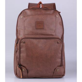 Tas Ransel Laptop Leather Backpack Bag Kulit Synthetic MB-YD