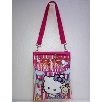 Tas Selempang Anak Karakter Hello Kitty Salur - Pink