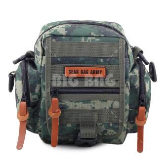 Tas Selempang Gear Bag Army A.I.M Military - Green Army Tas Pria Tas Messenger Tas Slempang