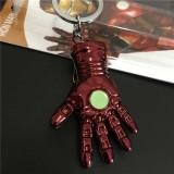 The Avengers Ironman Sarung Tangan Model Pendant Keychain Keyring Fashion Tas Mobil Liontin Mainan Souvenir Gift-Intl - 3