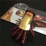 The Avengers Ironman Sarung Tangan Model Pendant Keychain Keyring Fashion Tas Mobil Liontin Mainan Souvenir Gift-Intl - 2