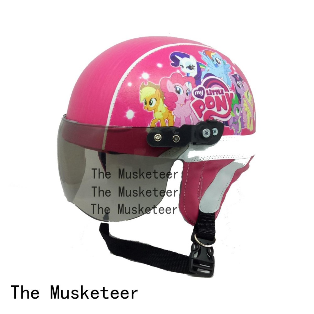 ... Free Masker Mulut. Source · Hot Deals The Musketeer Helm anak Printing Pony Pink usia 1-4 tahun terbaik murah