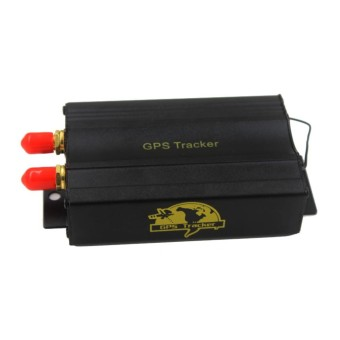 TK103B GPS SMS GPRS Vehicle Tracker Locator With Remote Control Alarm SD SIM Card Anti-theft - intl