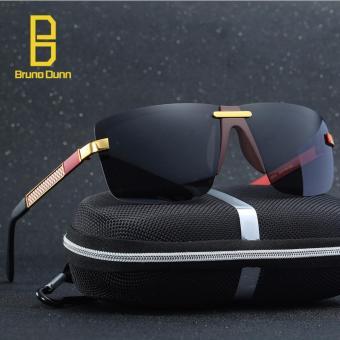 TOP Merek WANITA Pria s Mirror Polarized Sun Glasses Mengemudi Kaca Goggle  Eyewear Aksesoris Sunglases Pria 5010 cc4d954501