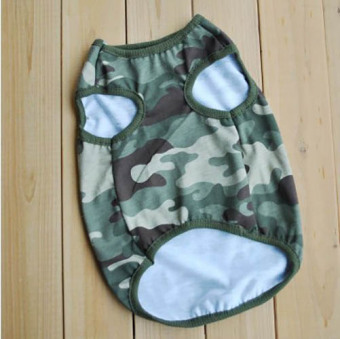 Unipet - Baju Anjing Kucing Army -Size L