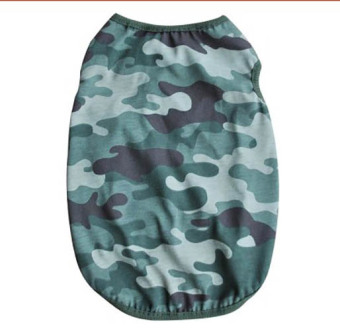 Unipet - Baju Anjing Kucing Army -Size S
