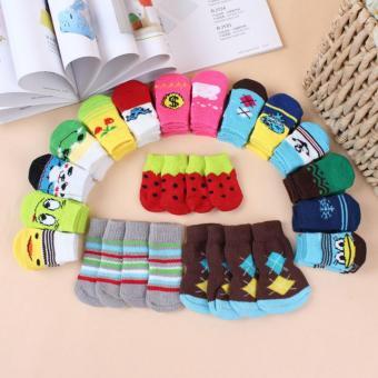 Unipet Kaos Kaki Anjing Kucing Dog Cat Sock Size M