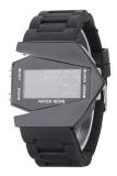 Adapula Waterproof Pesawat Olahraga Display Digital Jam Tangan Hitam - 2 ...