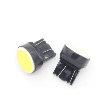 Universal - 1 pair / 2 pcs Lampu LED Senja/Wedge Side T20 7443 12COB