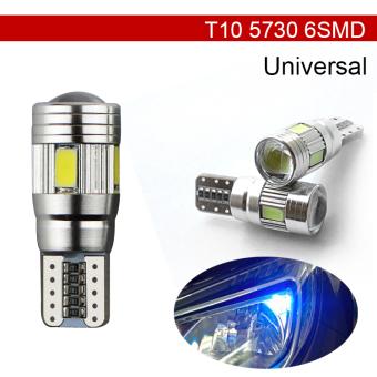JMS - 1 Pcs Lampu LED Mobil / Motor / Senja T10 Canbus 6 SMD 5630