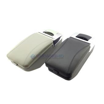 Universal Center Console Box Armrest + Leather Semua Mobil Masuk