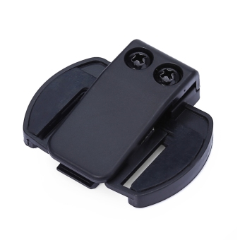 V6 BT Bluetooth Sepeda Motor Helm Interkom Motor Lewat Headset Braket Dudukan Klip-Internasional
