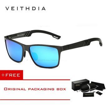 Veithdia Aluminium Kacamata Terpolarisasi Lensa Pria Berjemur Kacamata  Cermin Perempuan Mengemudi Memancing Eyewears Aksesoris 6560 ( 82509b3632