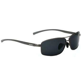 Review of VEITHDIA Baru Polarized Pria Sunglasses Bingkai Alumunium Sun  Kacamata Berkendara Aksesoris Eyewear Kacamata Hitam 9b42a18d32
