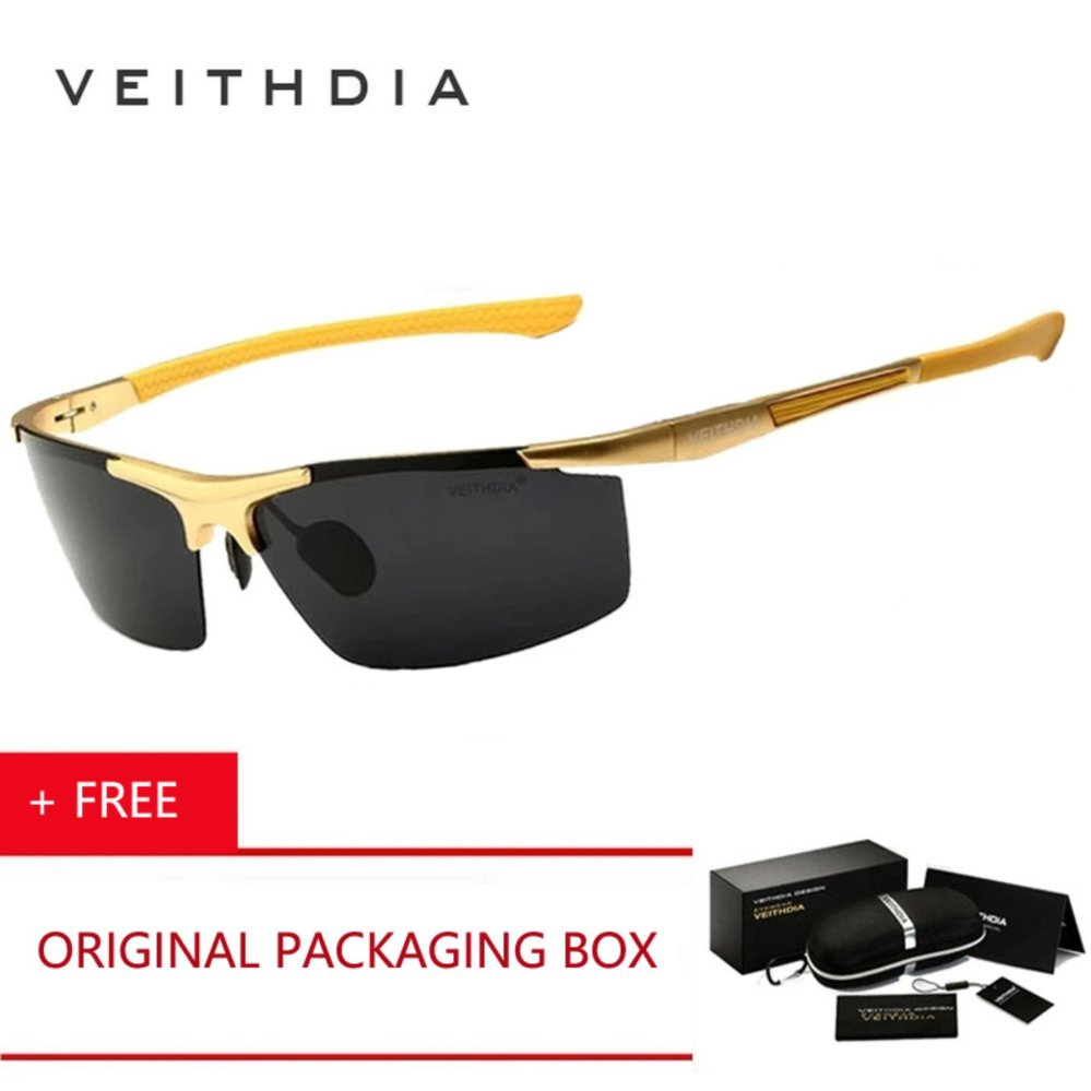 Review of VEITHDIA HD Pria Merek Desain Olahraga Kacamata Terpolarisasi Mengemudi Kacamata Goggles Aluminium Magnesium Oculos