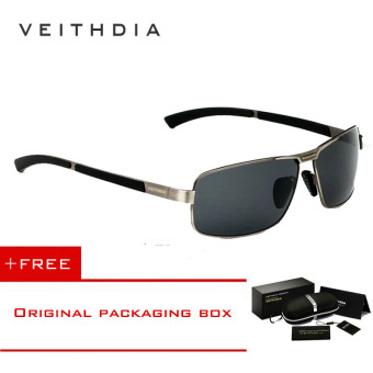 VEITHDIA Mens Sunglasses Polarized Lens Driver Glasses Driving Fishing Sunglass Eyewear Accessories For Men 2490 (