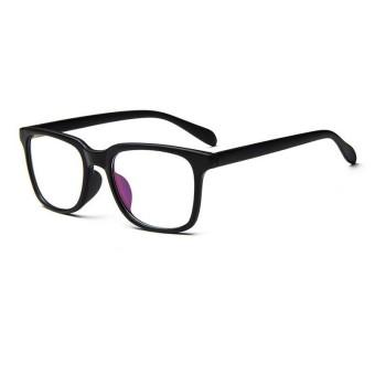 Pria Vintage Kacamata Bingkai Kacamata Retro Spectacles Bening Lensa  Kacamata untuk Pria-Hitam-Intl b2d4b68b6d