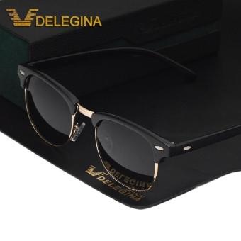 Antik Uniseks Terpolarisasi Kacamata Hitam Merek Desainer Cermin Sunglases  Kutub Mengemudi Shades Pria Wanita-Internasional c27cfc3073
