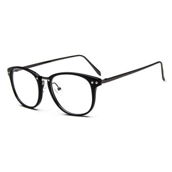 VintaMen Eyeglass Frame Glasses Retro Spectacles Clear Lens Eyewear For Men - intl