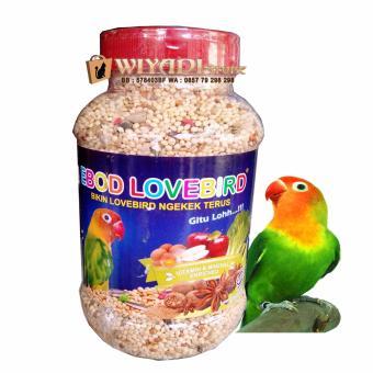 WiyadiStore - Makanan pakan Burung Ebod Lovebird Milet Harian