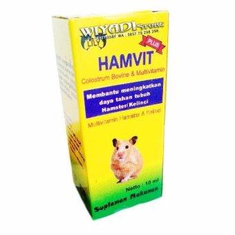 WiyadiStore - Vitamin Hewan Hamster, Sugar Glider dan KelinciHAMVIT