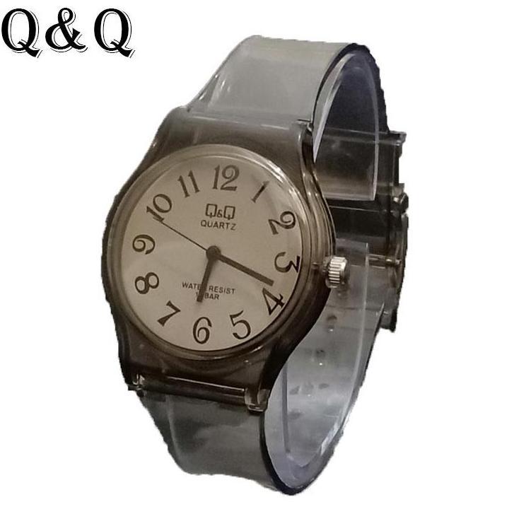 Q Q Watch - jam tangan wanita dan anak anak sporty   lasika - Q Q    Transparan 06dd3959f9