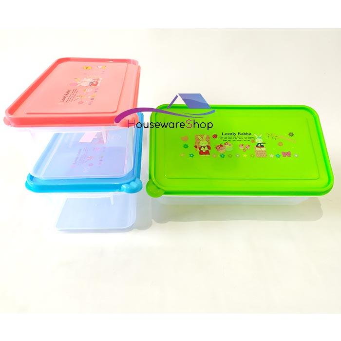 toples sealware kotak warna 2100 ml – food grade