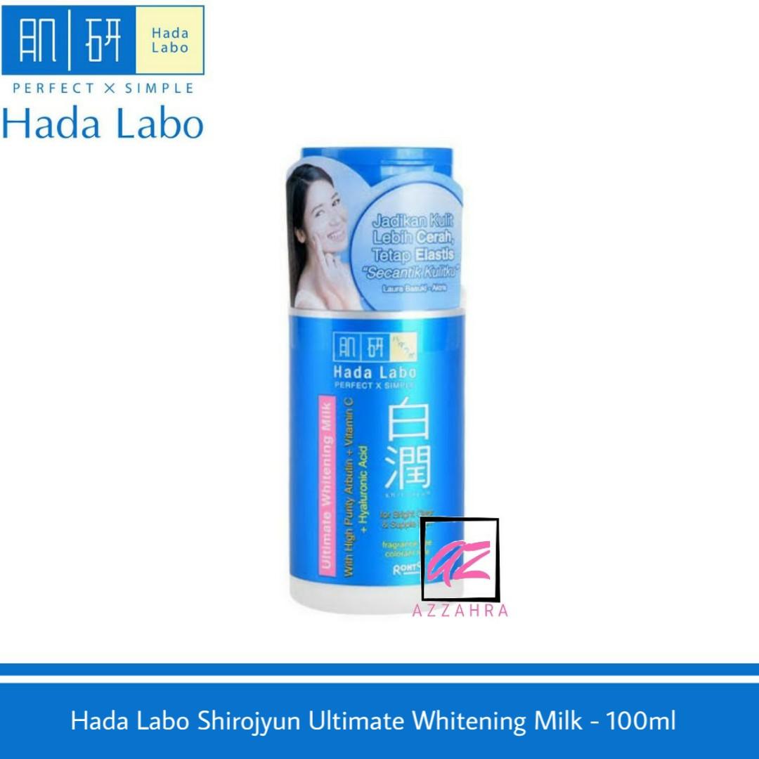 hada labo shirojyun ultimate whitening milk – 100ml