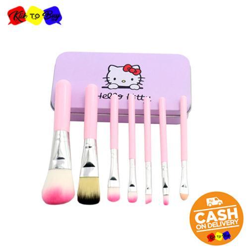 Review Ktb Kuas Make Up Hello Kitty Set 7 In 1 Brush Hello Kitty Set