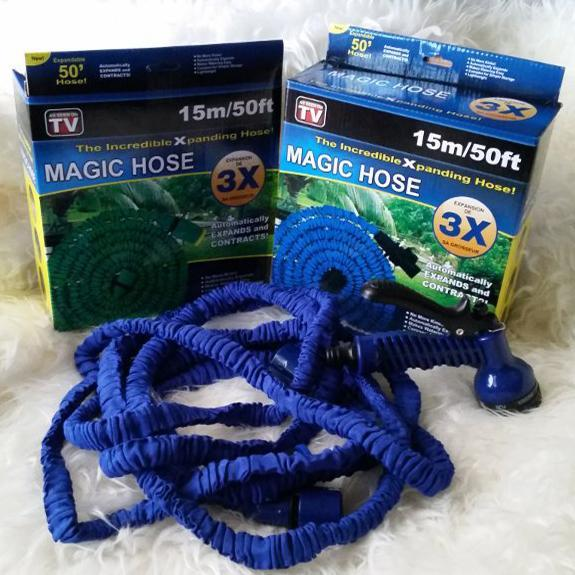 Selang Magic Hose Anti Kusut / Selang Air Magic Hose Ajaib Anti Kusut 15 Meter Original