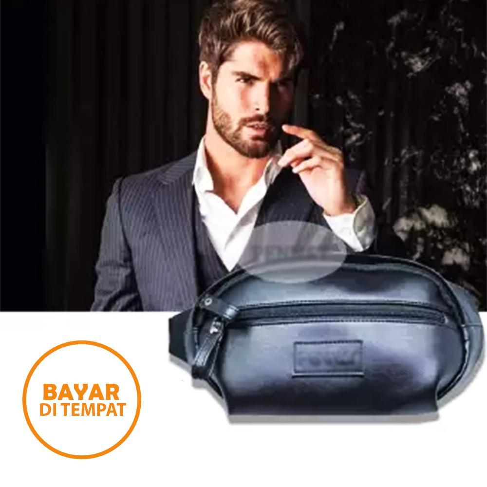 Detail Gambar Tas Selempang Kulit PU Leather Sling Bag Tablet Ipad Tahan Air - Tas Pria Tas Wanita Terbaru
