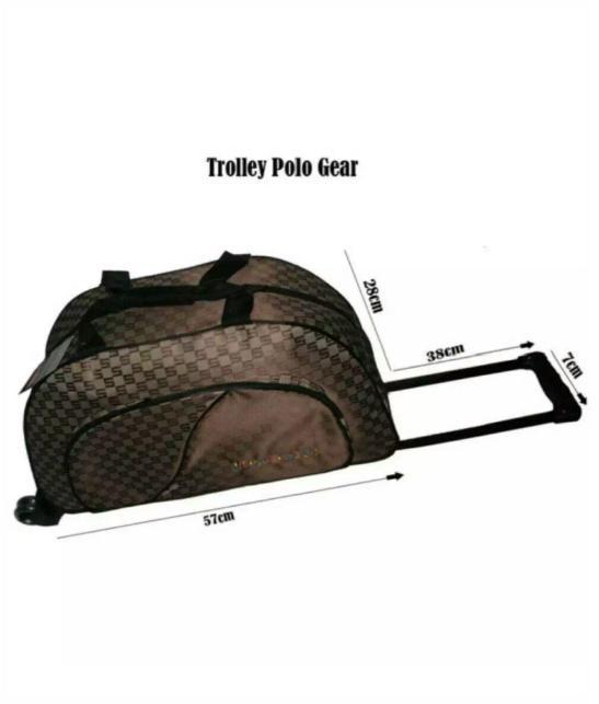 tas travel bag polo gear tas baju tas pakain tas trolly