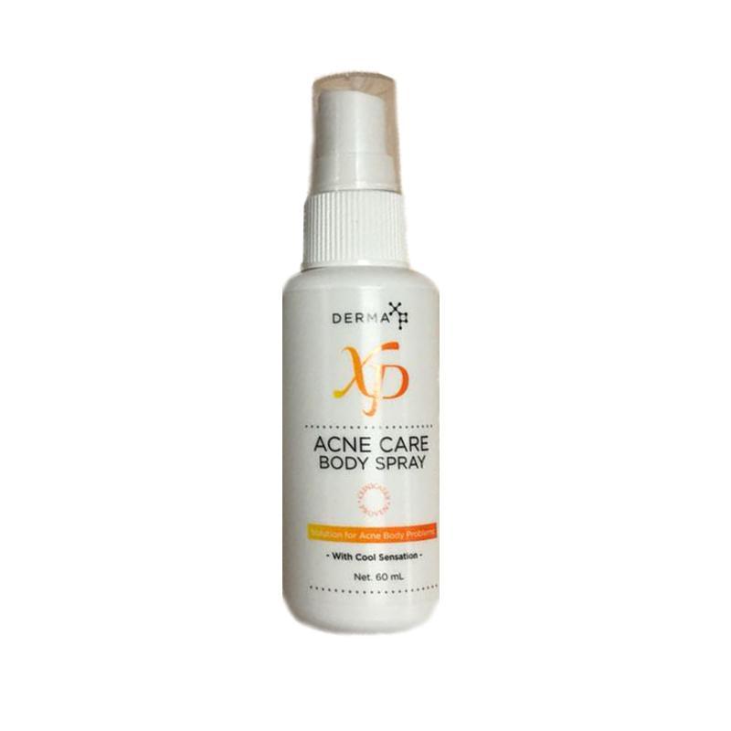 Delin Store - Derma XP Acne Care Body Spray 60 mL Anti Jerawat Dan Komedo -
