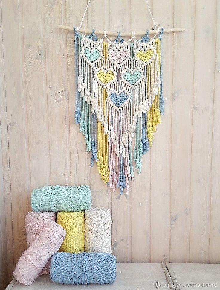 spesial macrame hiasan dinding dekorasi sb – love