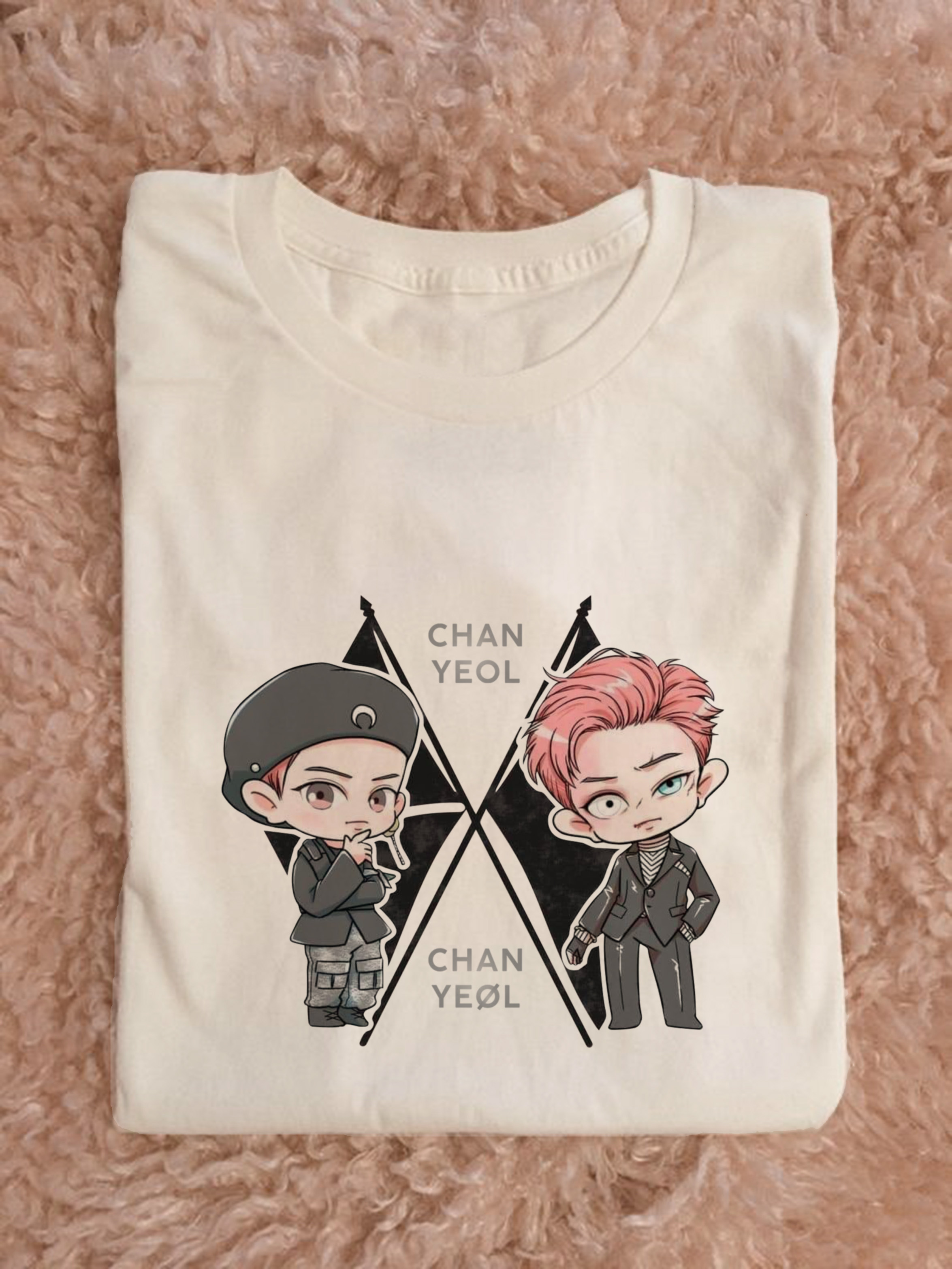 special edition!! kaos exo obsession chanyeol chibi