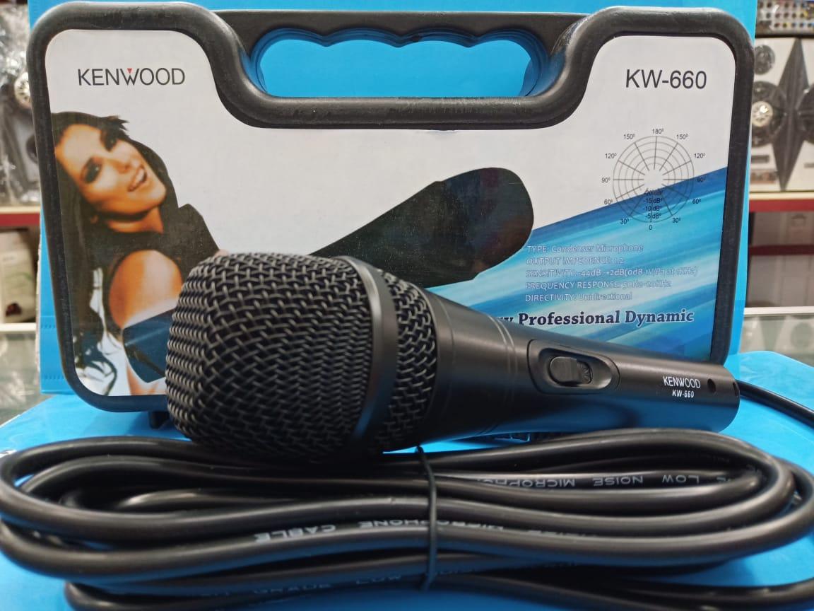 mic mike mik kabel profesional karaoke kenwood  kw660 suara bagus