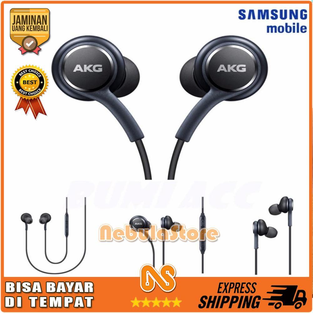 Handsfree SAMSUNG S8 OEM BY AKG Headset Earphone Suara Bass Stereo - FJ067