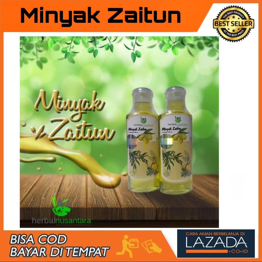 cod – 100ml masage oil zaitun aromatherapy pure minyak urut gosok pijat spa massage oil herbal nusantara