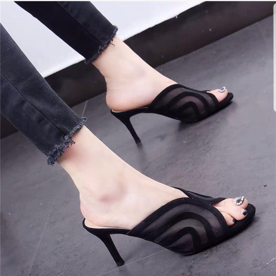 angel clct -sandal heel wanita elegant  – heel kualitas premium  nyaman pakai