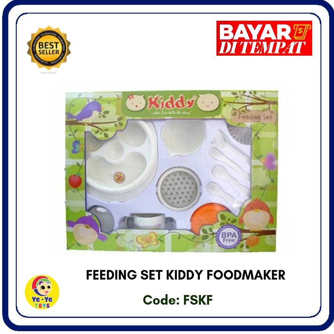 tempat makan bayi/ tempat makan bayi set / ing set / food maker / ing set kiddy +  food maker